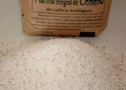 harina de centeno integral ecológica