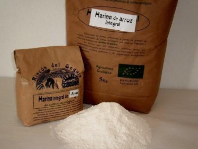 harina arroz gluten
