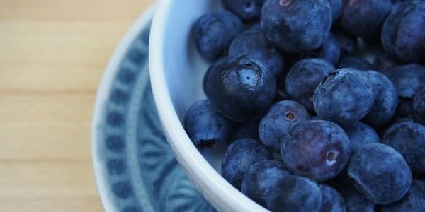 Alimentos naturales: arándanos