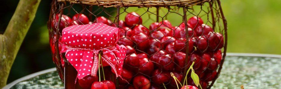 Frutas ecológicas de primavera