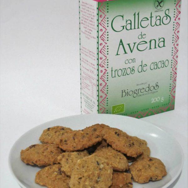 Galletas avena cacao SG Biogredos