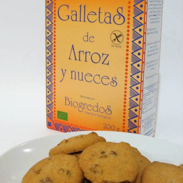 galletas arroz y nueces biogredos