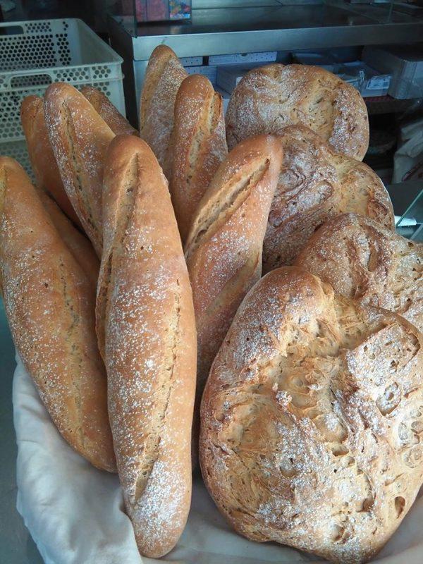 pan trigo blanco vera dulce vera